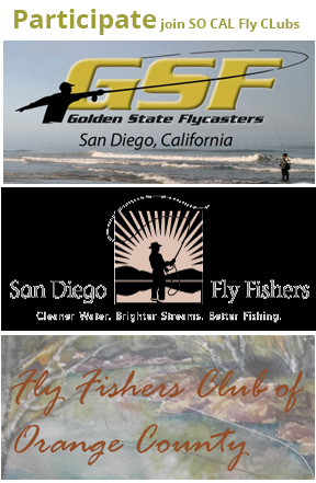 San diego fly shop and fly fishing charter southern for Fly fishing san diego