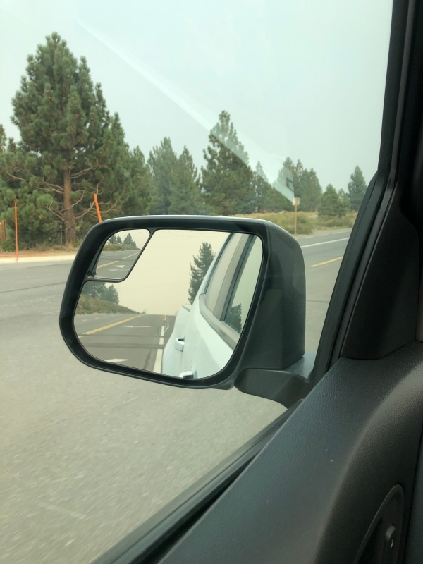 Mammoth Lakes Smoke