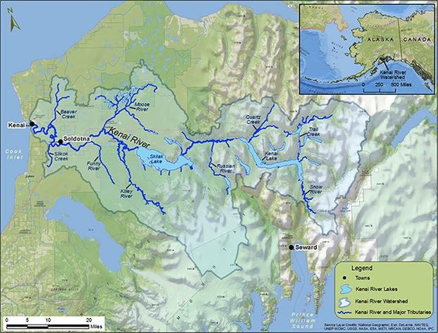Kenai-River-Fly-Fishing-Map-Alaska