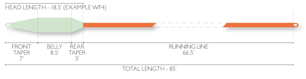 Airflo Switch Streamer Line Profile