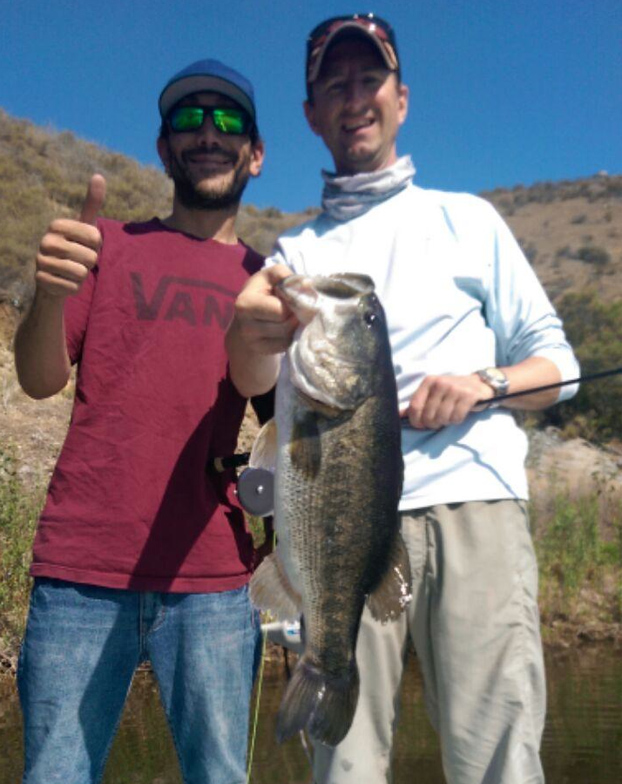 Catch bass on a fly rod big bass for Bass lake ca fishing