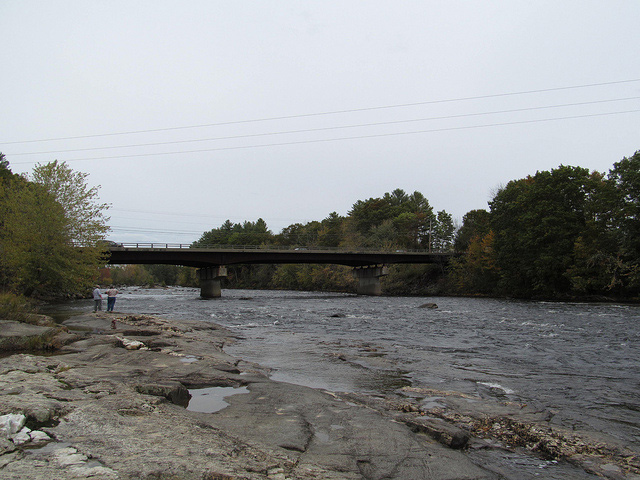 fly fishing the rapid river in maine